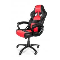 Gaming stoel Arozzi Monza Zwart-Rood
