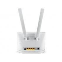 3G - 4G Router met switch van Huawei B315S-22, geschikt voor simkaart gebruik.