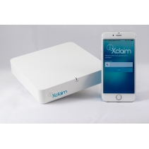 Dual-band 802.11n indoor access point van Xclaim Wireless incl PoE adapter