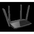 WiFi Router van D-Link, de DIR-842 - incl 4 poorts switch - WiFi - 802.11a/b/g/n/ac - Dual Band