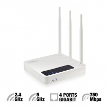 WiFi Router Dualband EM4500-AC750-Eminent