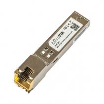 Mikrotik SFP-Module S-RJ01, 10/100/1000M koper module naar Glas Fiber aansluiting