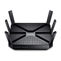 Gigabit Router voor gamers, TP-Link Archer C5400 Tri-Band MU-MIMO  Zwart