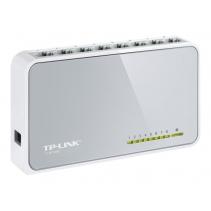 8 poorten netwerk switch vanTP-LINK, de TL-SF1008D 10/100Mbps