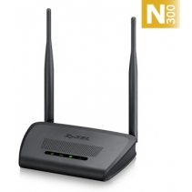 Wireless Router van ZyXEL, de NBG418N-V2 Wireless N300 Home Router