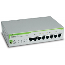 8 poorts netwerk switch van Allies Telesis, de GS900-8Eco