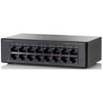16 poorts netwerk switch van Cisco Small Business, de SF110D-16 poorten