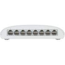 8 poorts netwerk switch van D-Link, de DGS-1008D - onbeheerd - 8 x 10/100/1000