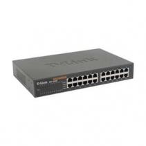 24 poorts netwerk switch van D-Link, de DES-1024D 24xFE retail