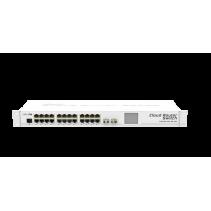 Mikrotik Cloud Router Switch van Mikrotik, de  CRS226-24G-2S+RM - 24 Gigabit poorten en twee SFP+
