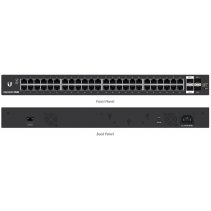 Netwerk Switch van Ubiquiti Edge Switch ES-48-LITE 48 Gigabit poorten