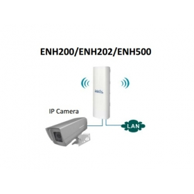 Access Point van Engenius Bundel, de ENH500  zendbereik tot 1Km afstand 5Ghz